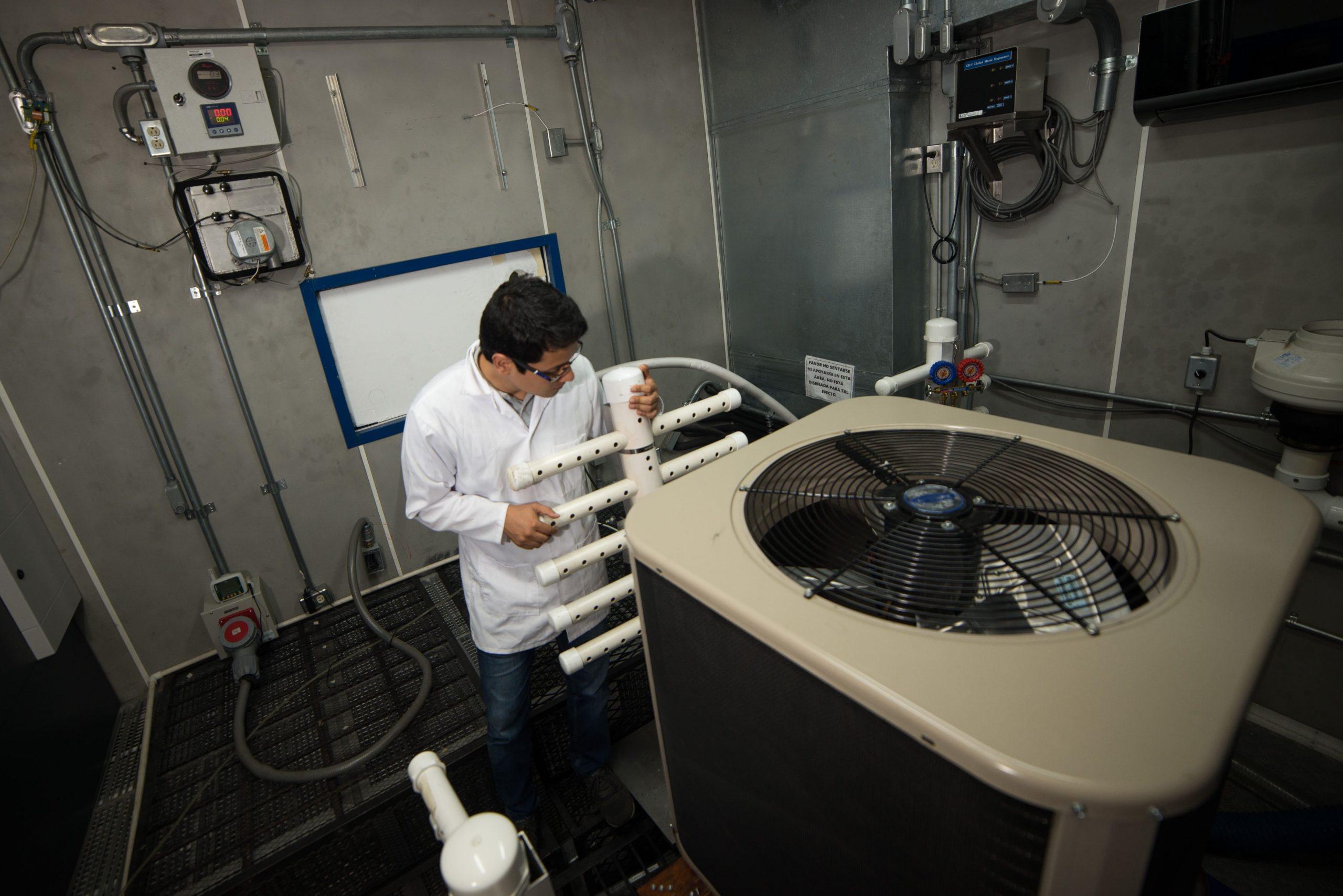 Laboratorio de Ensayos para Equipos Acondicionadores-de-Aire